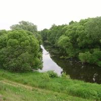 Благовское, окраины, река Северка
