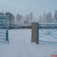 Вход на стадион. Зима, 2013 год.