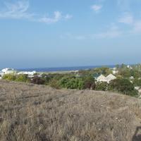 Вид на Любимовку и море с горы