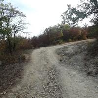 Горные дороги в окрестностях Любимовки