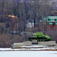 Памятник танкистам на Бородинском поле