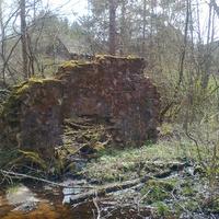 Разваленны мельницы на р. Чиста