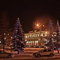 Архангельск вечерний