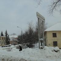 Поворот на улицу Некрасова