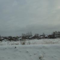 Вид на бывшую деревню Воскресенское
