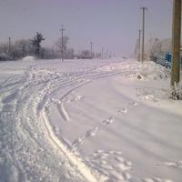 засніжені вулиці Ясиноватки