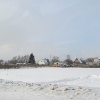 Дома деревни