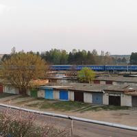 Поезд № 610 Гродно - Гомель следует по ст. Калинковичи-Восточные
