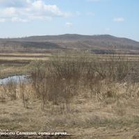 Окрестности Селихино: сопки и речка...