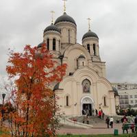 """""""Утоли моя печали"""" иконы Божией Матери церковь. Марьинский бульвар, 2"""