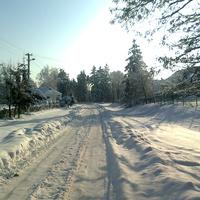с. Завадівка. Зимова краса.