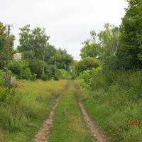 Байрак, дорога по селу