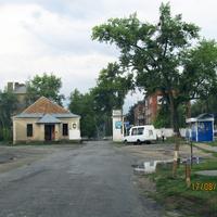 Военный городок, центральное КПП