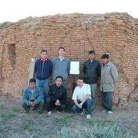 Үкі би мазары. ХІХ ғасыр. Қызылжар ауылы. Базартөбе ауылдық округі