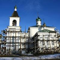 Строящаяся православная церковь Онуфрия Великого