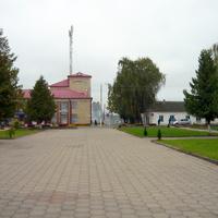 городской сквер