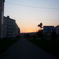 Вечер в Северобайкальске