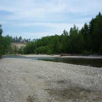 Река Тыя, ближняя протока