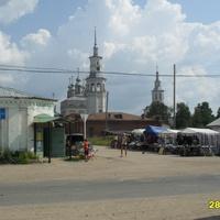 вид на лальскую церковь