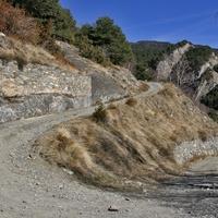 Горная дорога в Ордино