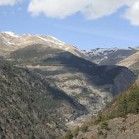 Горы в Энкампе