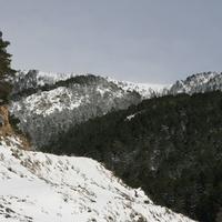 Заснеженные Пиренейские горы в Ордино