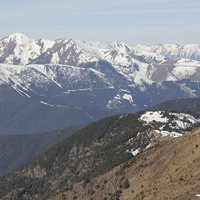Вид на Пиренейские горы