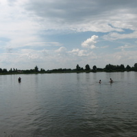 Наше озеро.