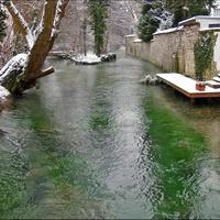Река Падер в Падерборне
