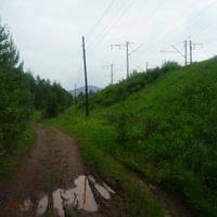 Дорога изобиловала слякотью