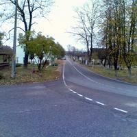 Центральная улица поселка