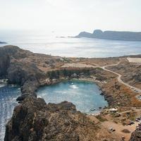 Средиземное море в Линде и гавань Святого Павла