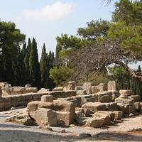 Руины храма Афины в Филеримском монастыре