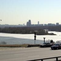 Москва-река, Строгино
