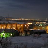 Златоуст ночью
