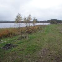 Озеро рядом с деревней Аношки