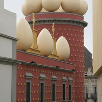 Здание театра-музея Сальвадора Дали