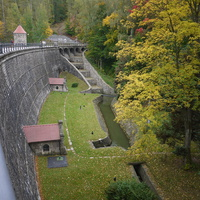 Либерецкая плотина или Harcovská přehrada
