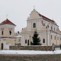 Монастырь францисканцев, костел Святого Иоанна Крестителя