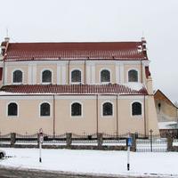 Костел Святого Иоанна Крестителя (вид сбоку)