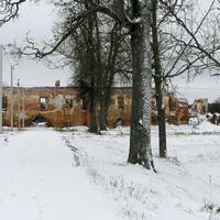 Руины бывшего замка Сапег