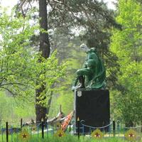 Милое, памятник воинам и партизанам Кличевщены