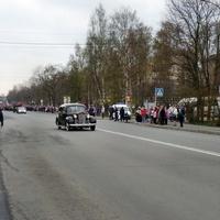 улица Володарского в день Победы