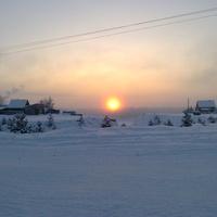 Суровая зима в Сосьве
