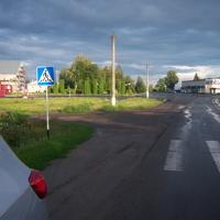 Площадь праздничных демонстраций, собраний и митингов поселка Солнцево. Июль 2012 г.