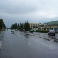 Ул. Ленина п. Солнцево Курской обл. Июль 2012 г.