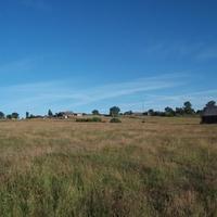 вид на деревню унже-павинск с реки тавда