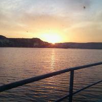 Инкерман.Рассвет над бухтой Северной