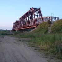 Луза, ж/д мост через р. Луза