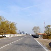Мост перед селом.